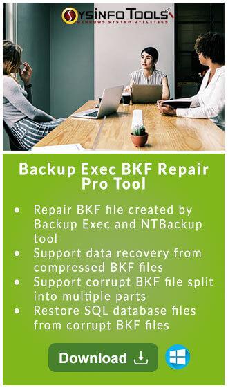 Backup Exec BKF Repair Pro