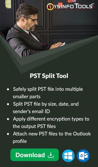 Split PST Tool