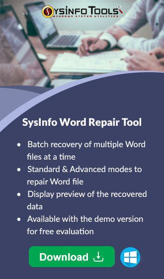 Word Repair Tool