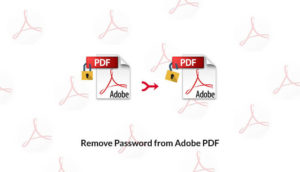 remove password from Adobe PDF file