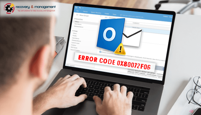 outlook error code 0x80072f06