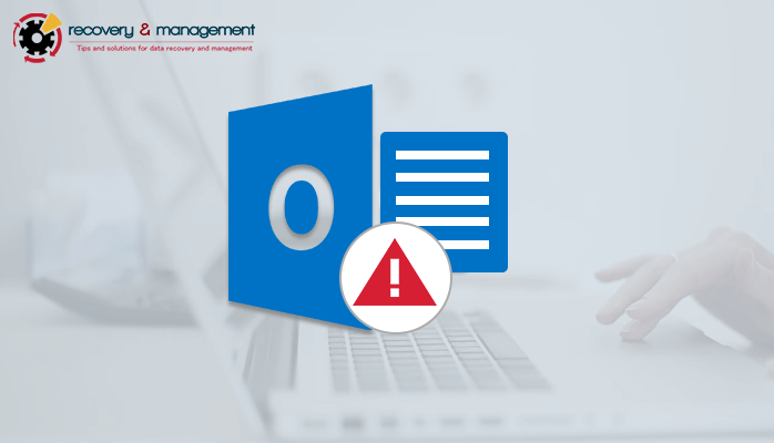 outlook error exchange is currently in recovery mode
