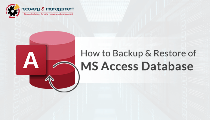 Backup & Restore of MS Access Database