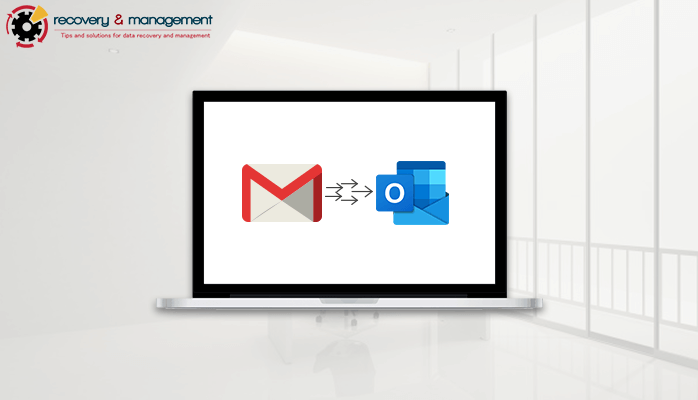 how to convert Gmail to outlook