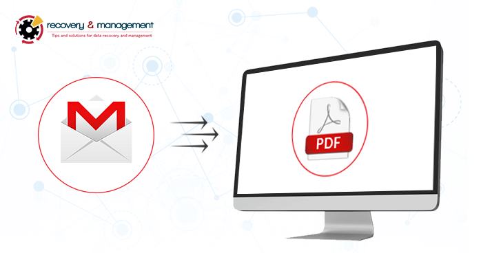 how to export Gmail emails to pdf