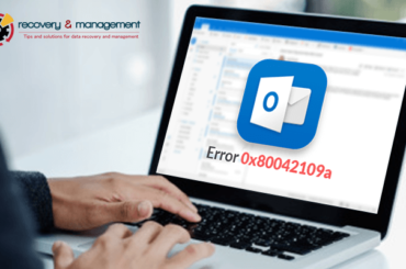 how to fix outlook error 0x80042109