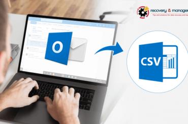 convert PST to CSV