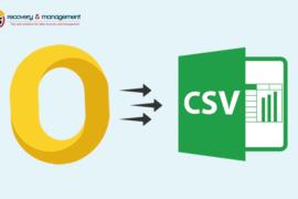 convert OLM to CSV