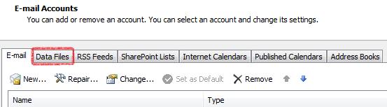 select data files