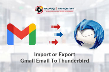 Export Gmail Email to Thunderbird