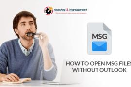 open msg file
