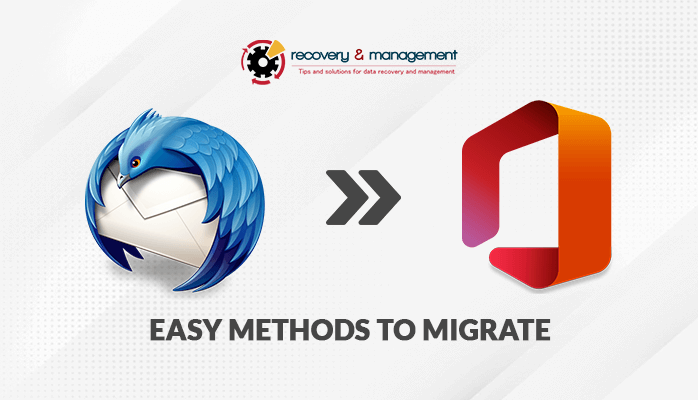 migrate thunderbird email to office 365