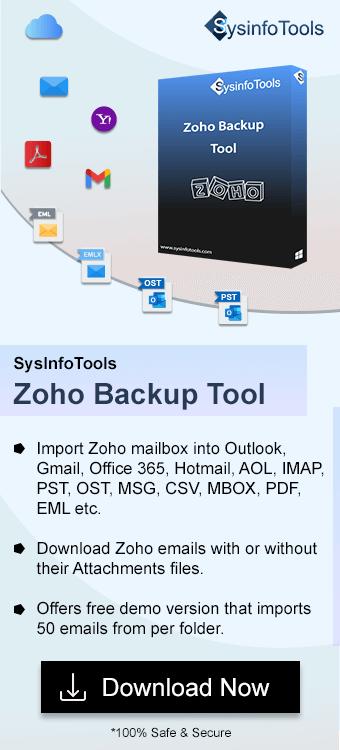 ZohoBackup Tool