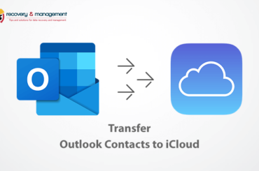 transfer Outlook contacts to iCloud