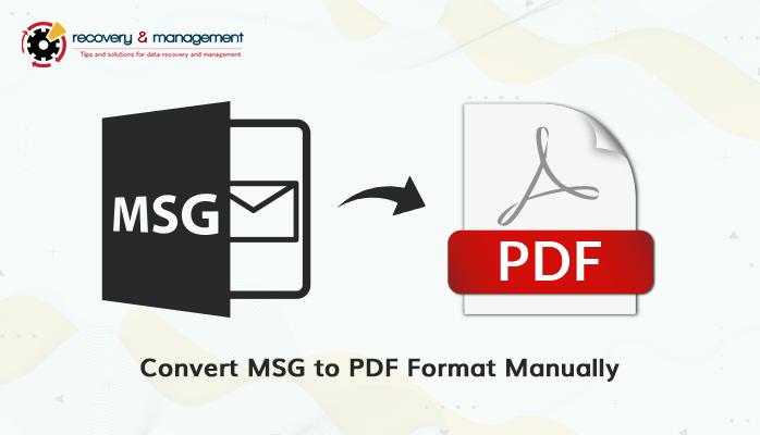 Free batch convert MSG to PDF