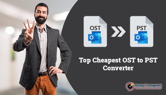Cheapest OST to PST Converter