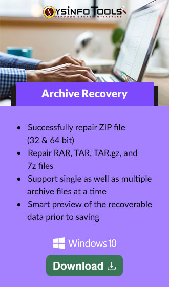 Archive Recovery Tool