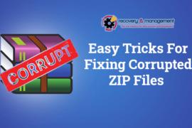 fix corrupted zip files online